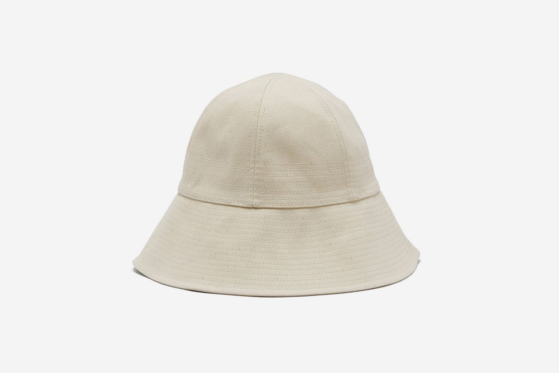 Oversized Denim Bucket Hat