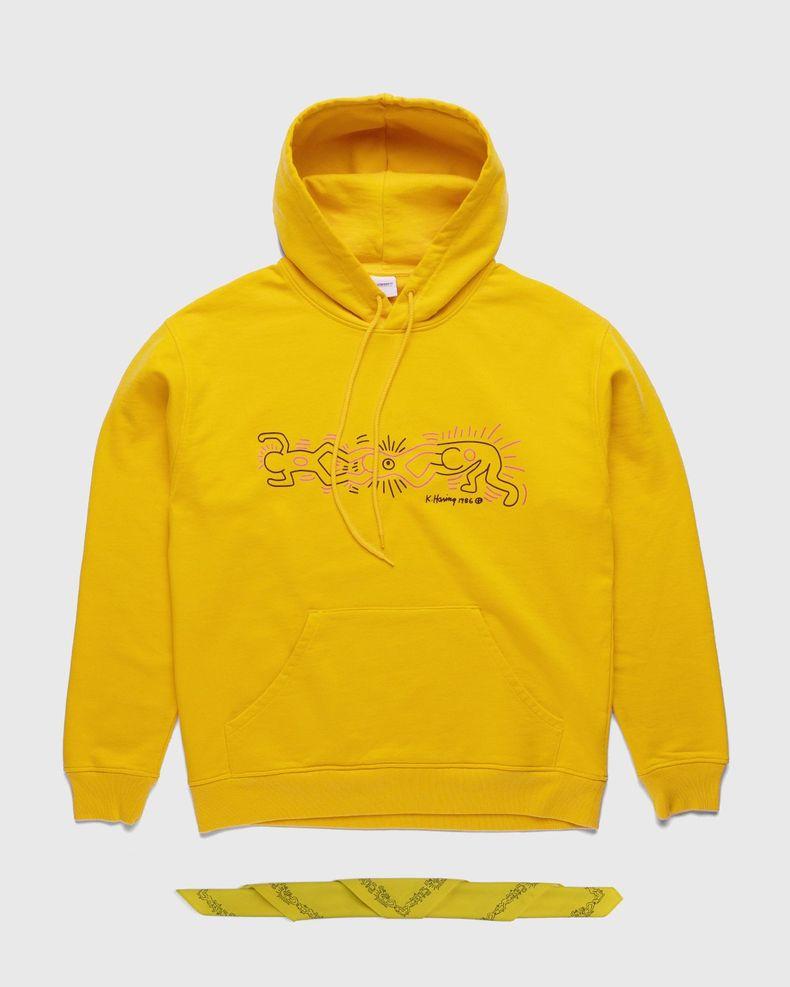 Highsnobiety x Keith Haring – Hoodie Yellow