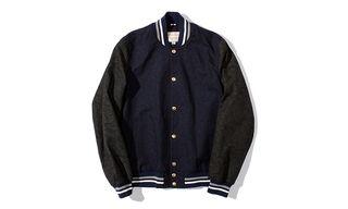 Maison Kitsuné All-Over Paisley Print Teddy Bomber Jacket