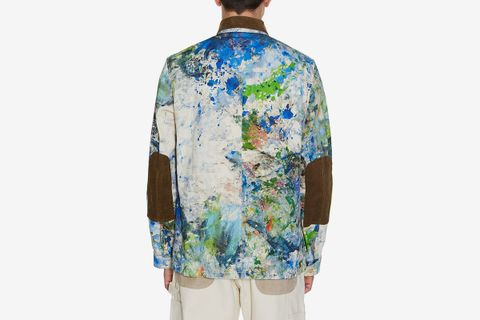 Paint-Effect Jacket
