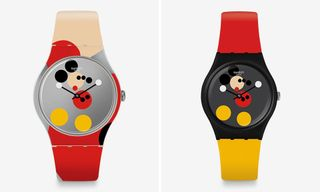 Swatch Taps Damien Hirst for Mickey Mouse Watches