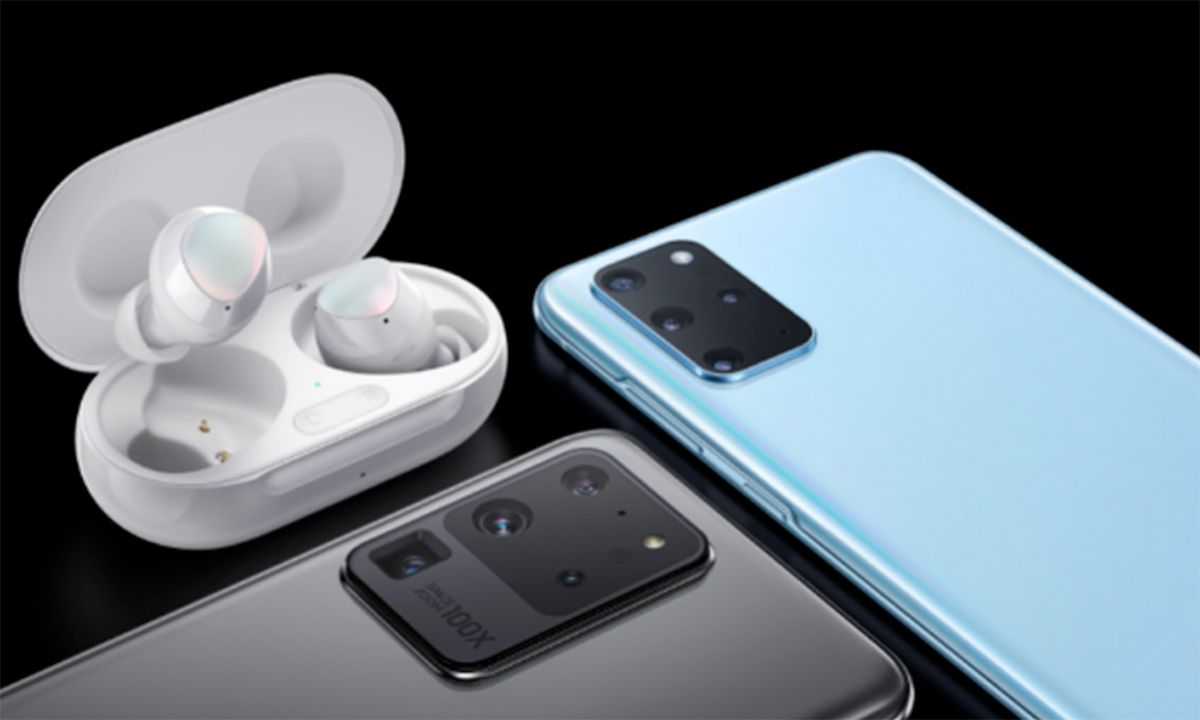 Samsung's Galaxy S20 Comes With Free Galaxy Buds+