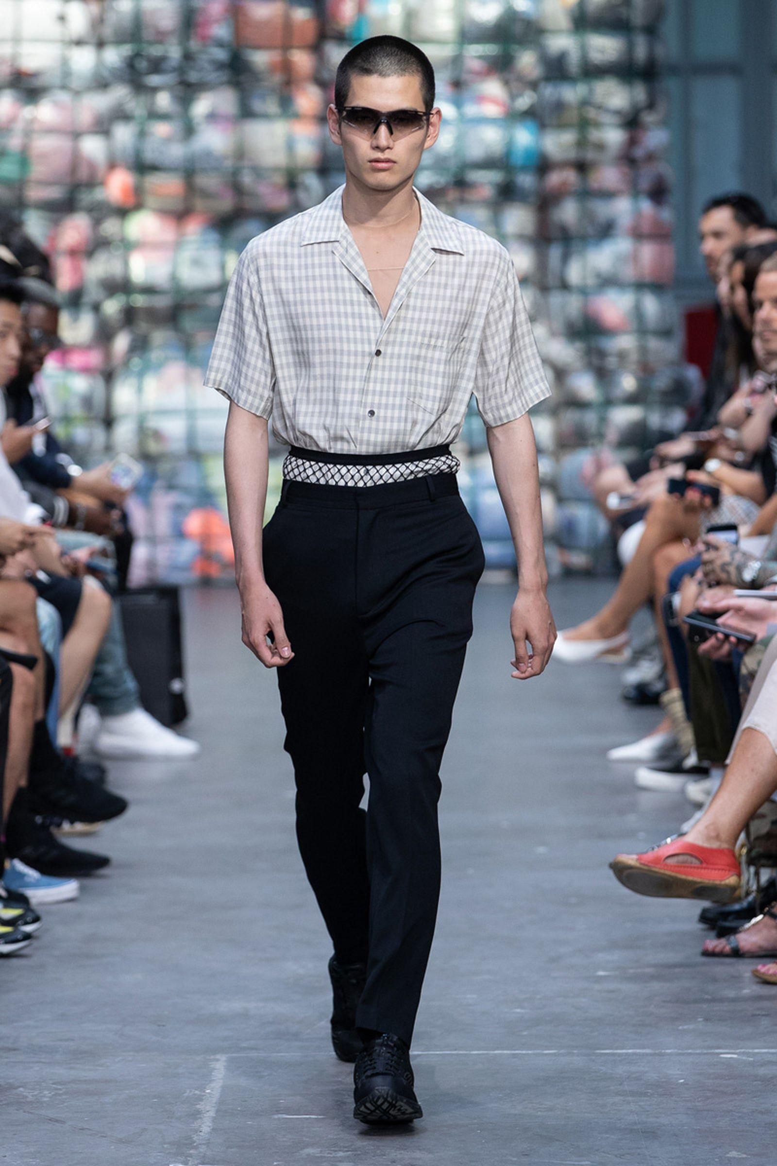 Paris Fashion Week Mens Sring Summer 2019 CMMN SWDN Ex Infinitas Heron Preston kenzo