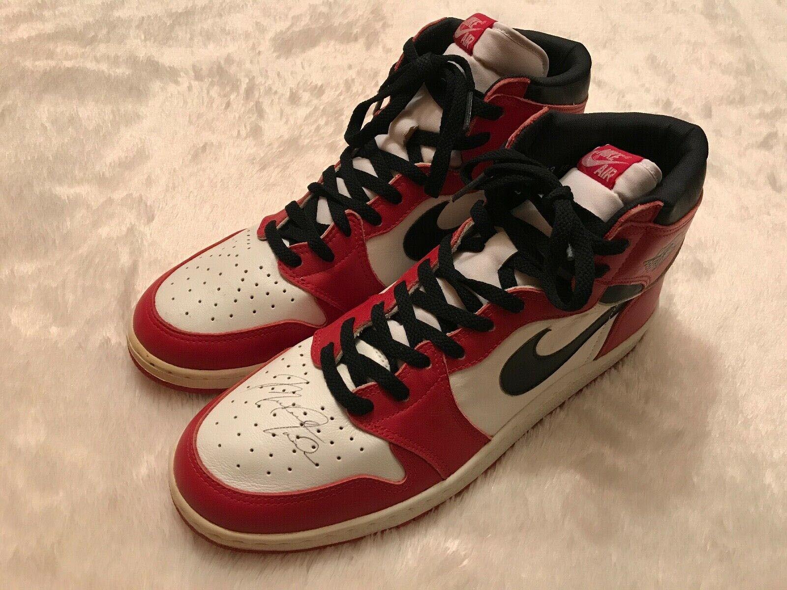 Michael Jordan-Signed Air Jordan 1s Are Up for  Million on eBay