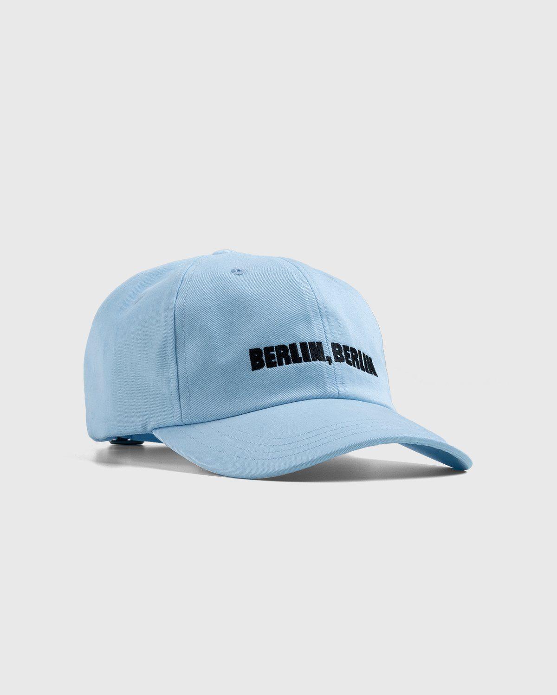 Highsnobiety x Berlin Berlin 2 – Cap Blue - Image 1