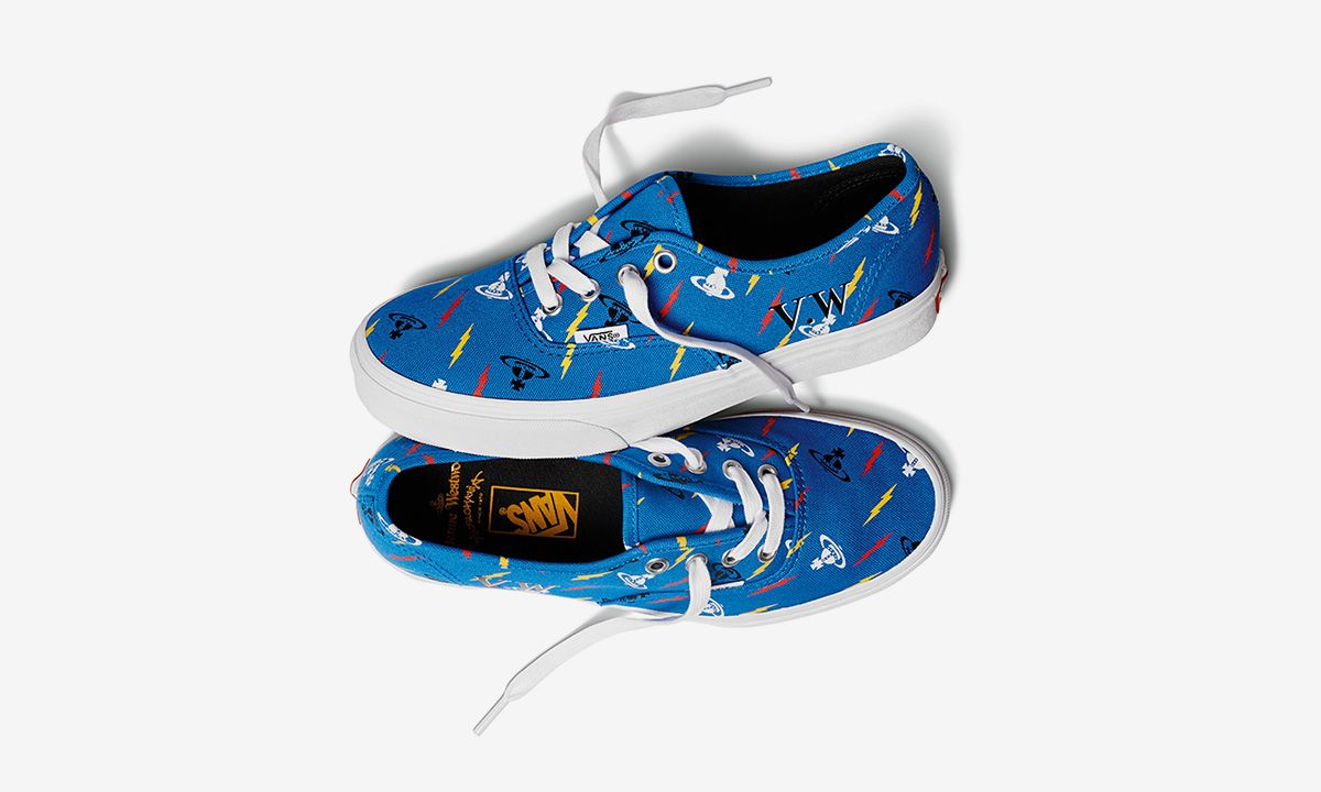 Vivienne Westwood Reinterprets Its Iconic Prints for Playful Vans Sneaker Collab