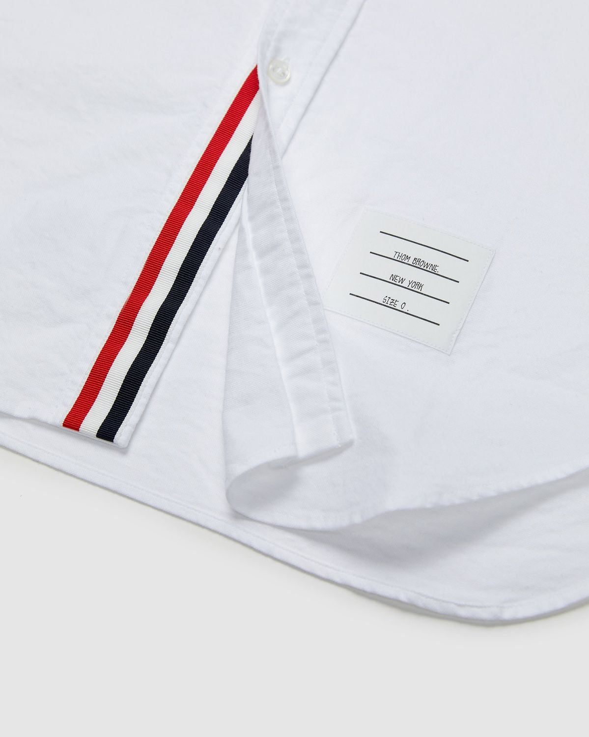 Colette Mon Amour x Thom Browne — White Peace Classic Shirt - Image 4