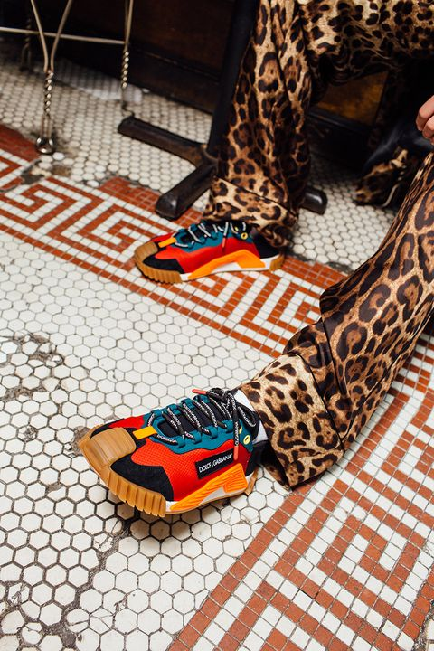 New Colorways of Dolce&Gabbana's NS1 Sneaker Hit the Streets of NYC 1