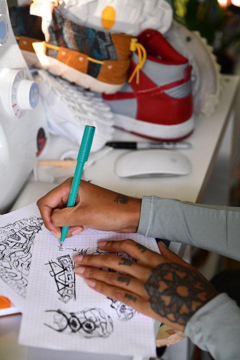 Asha Harper Is the Coolest Sneaker Designer You'll Ever Meet 31