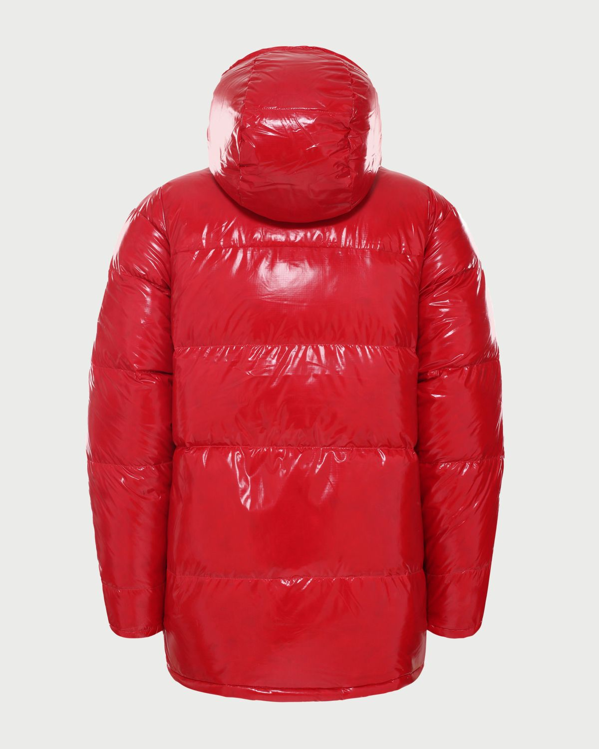 The North Face Brown Label — Brown Label Ripstop Down Parka Red Unisex - Image 2