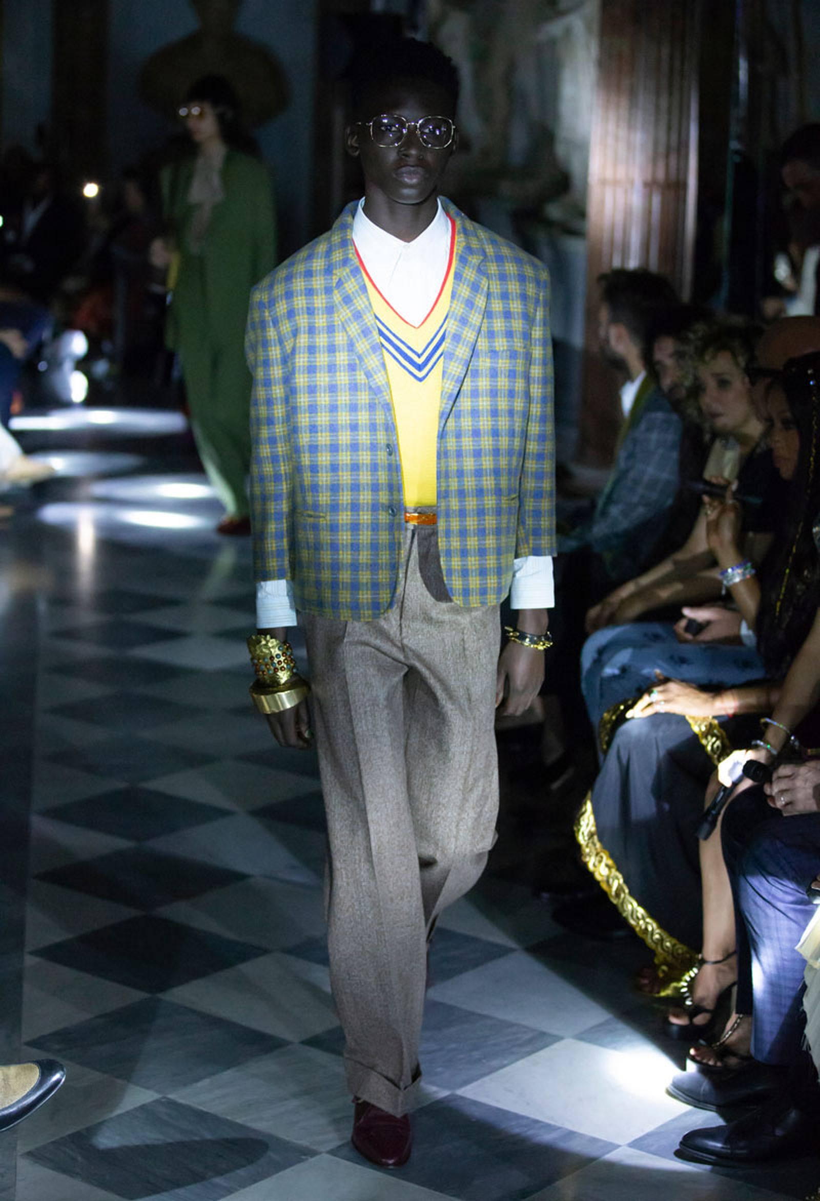 43gucci cruise 2020 runway Alessandro Michele asap rocky harry styles