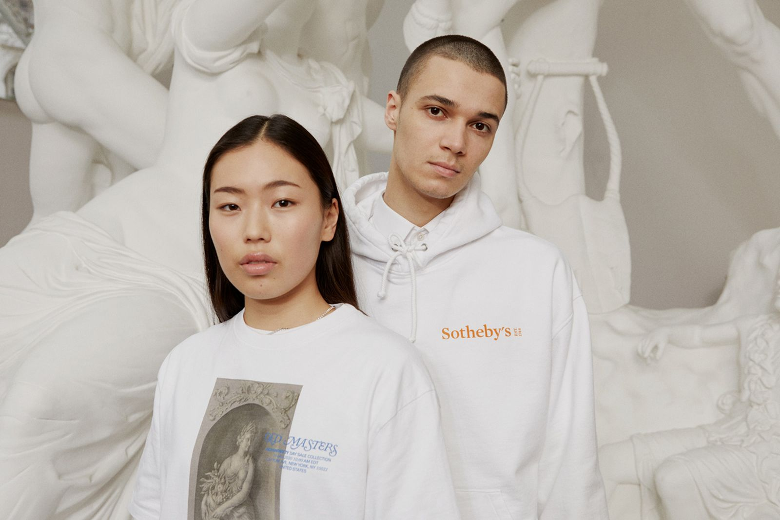 Sotheby's x Highsnobiety White T-Shirt and Hoodie