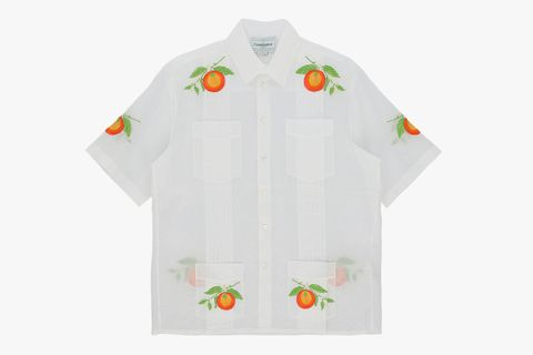 Embroidered Shortsleeve Shirt