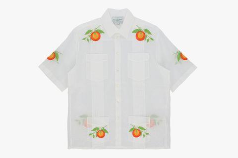 Embroidered Shortsleeve Shirt