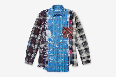 Paint-Splattered Shirt