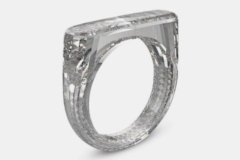 jony ive marc newson diamond ring sothebys Diamond Foundry