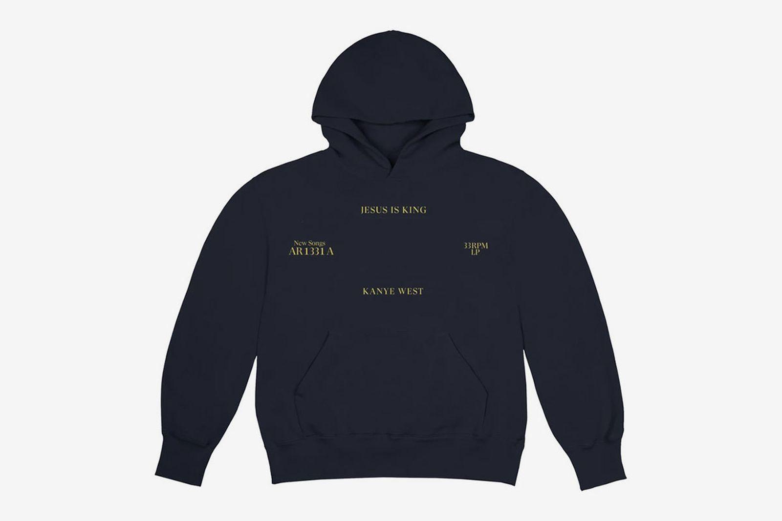 Kanye West 'Jesus is king' black hoodie