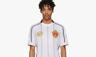 We Wish This $700 Versace Jersey Was at the World Cup