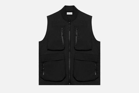 High Shrunk Nylon Vest