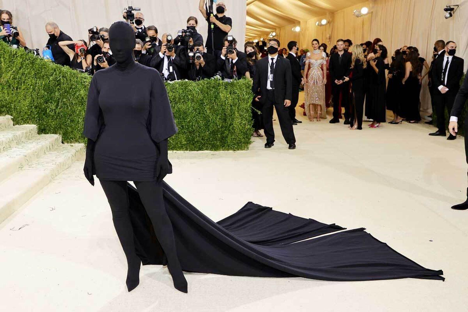 met gala 2021 celebrity style looks best outfits red carpet kim kardashian