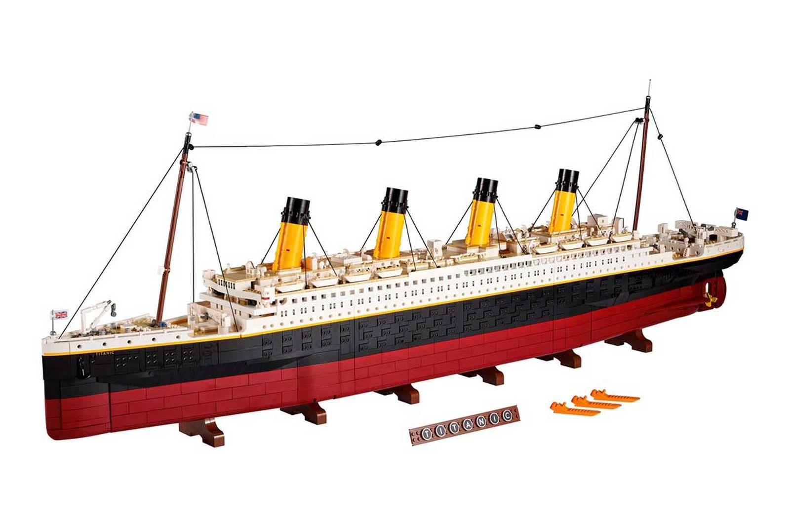 lego titanic model set kit price buy online size biggest pieces