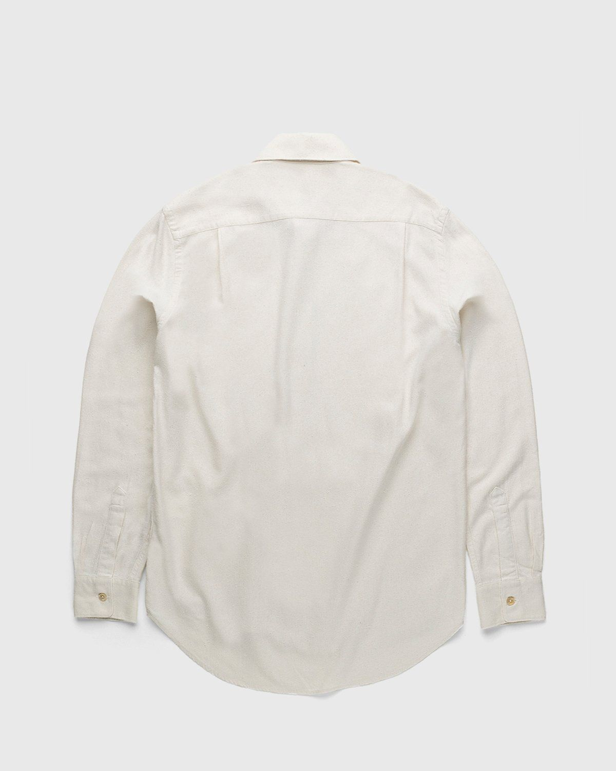 Our Legacy – Classic Shirt White Silk - Image 2
