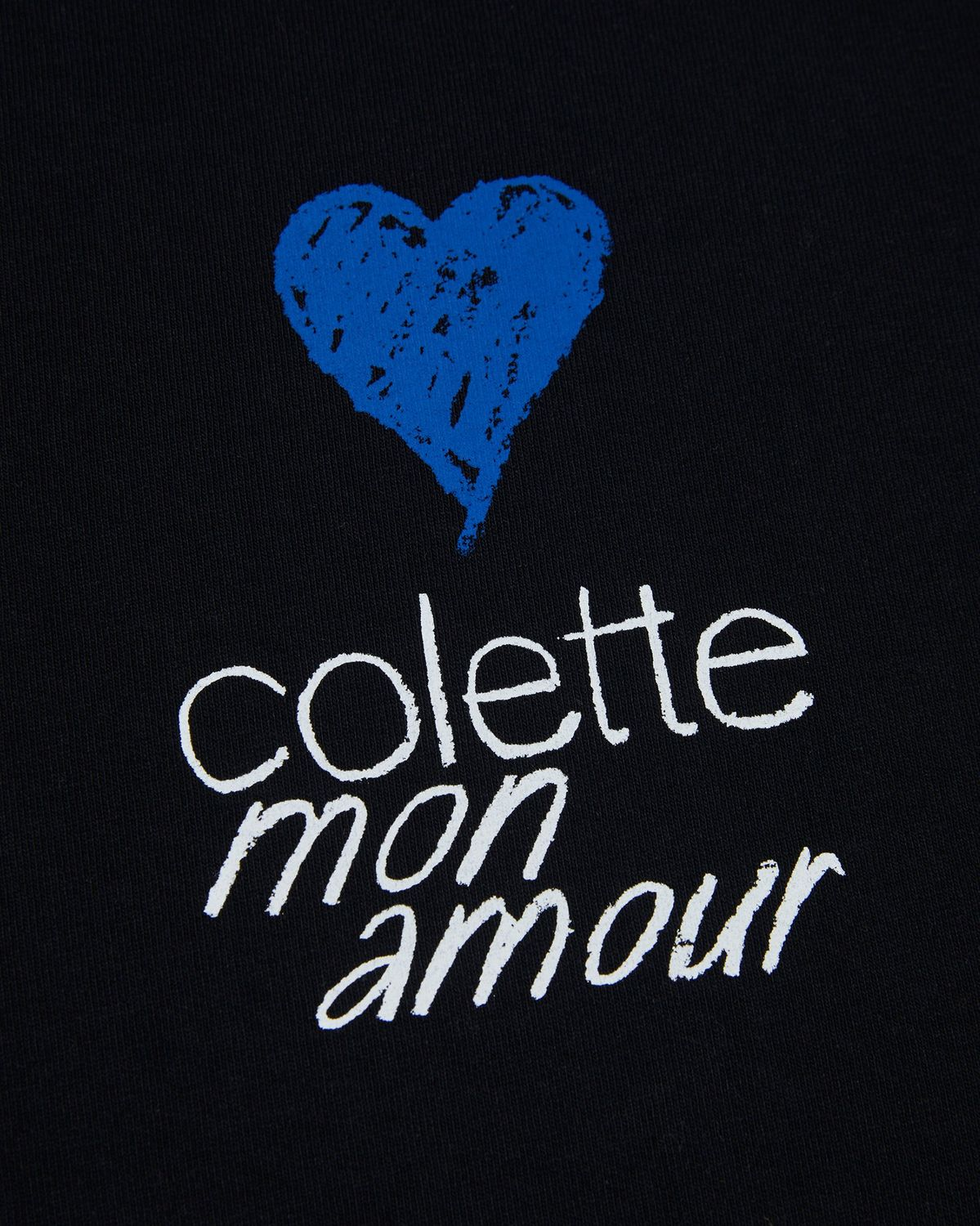 Colette Mon Amour - Heart T-Shirt Black - Image 4