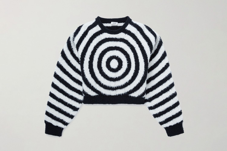 Brushed Jacquard Sweater