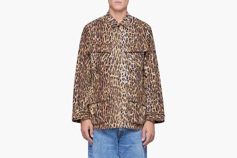 Leopard Fatigue Jacket