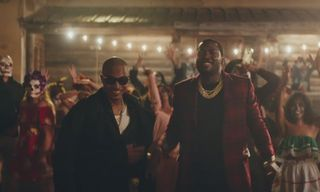 """T.I. & Meek Mill Party With the Dead in New Video for """"Jefe"""""""