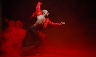 Clouds of Red Billow in Marcelo Burlon County of Milan's Womenswear Fall/Winter 2015 Video