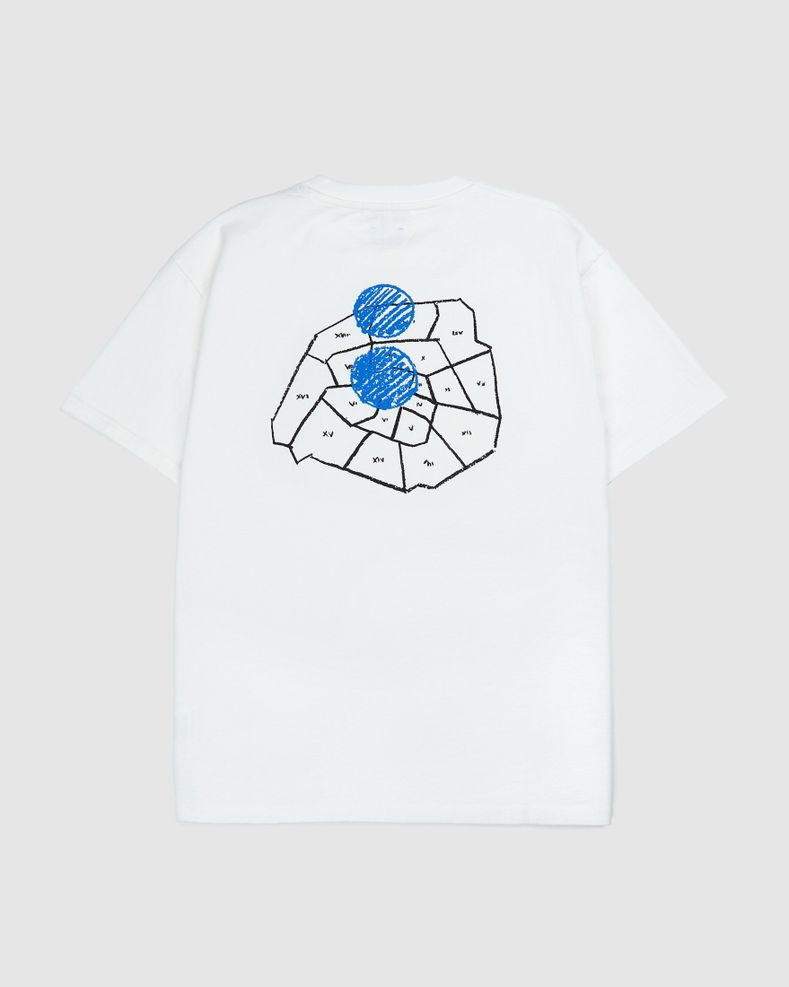 Colette Mon Amour - City Map T-Shirt White