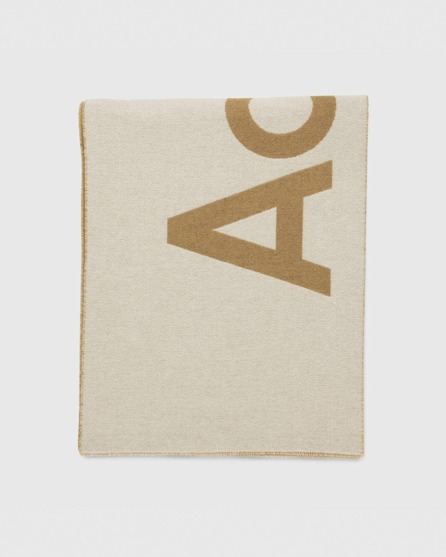 Acne Studios – Toronto Logo Scarf Brown - Image 2