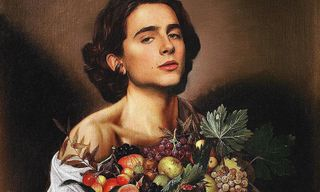 This Viral Instagram Account Is Putting Timothée Chalamet Into Works of Art
