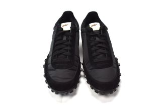 2bf95ef7300a79 COMME des GARÇONS  Black Nike Waffle Racer Is Now Available