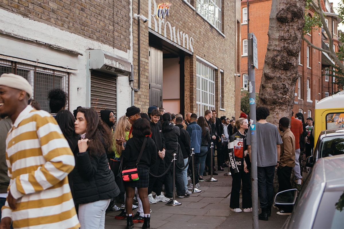 Here's What Went Down at Browns x Stadium Goods Sneaker Beast Launch Last Night