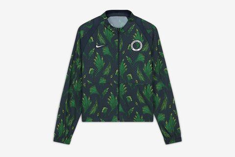 Cropped Soccer Jacket Nigeria