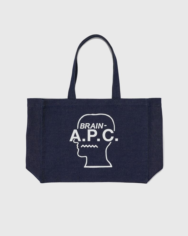 A.P.C. x BRAIN DEAD - Shopping Bag White