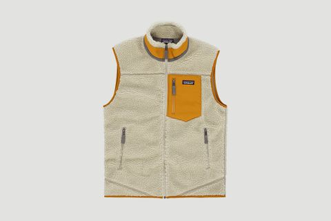 Classic Retro Fleece Vest