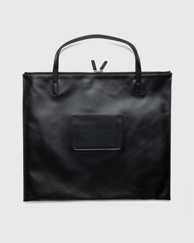 Jil Sander – Zip Tote Medium Black - Image 2