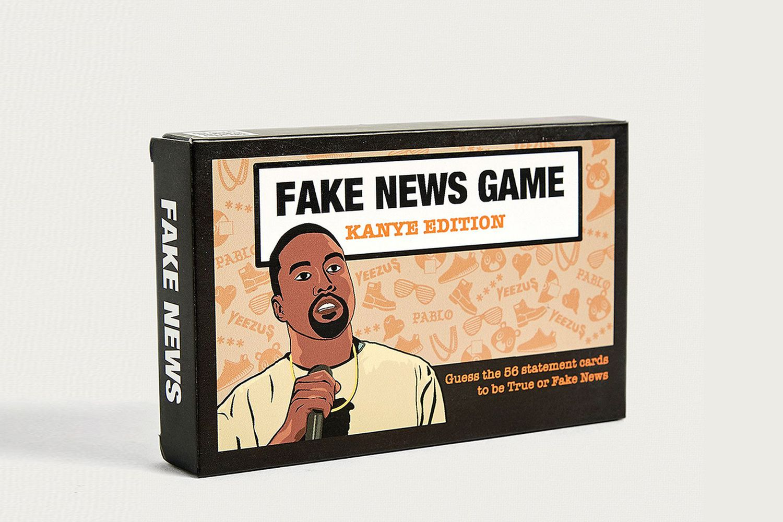 """Fake News: Kanye Edition"" Card Game"