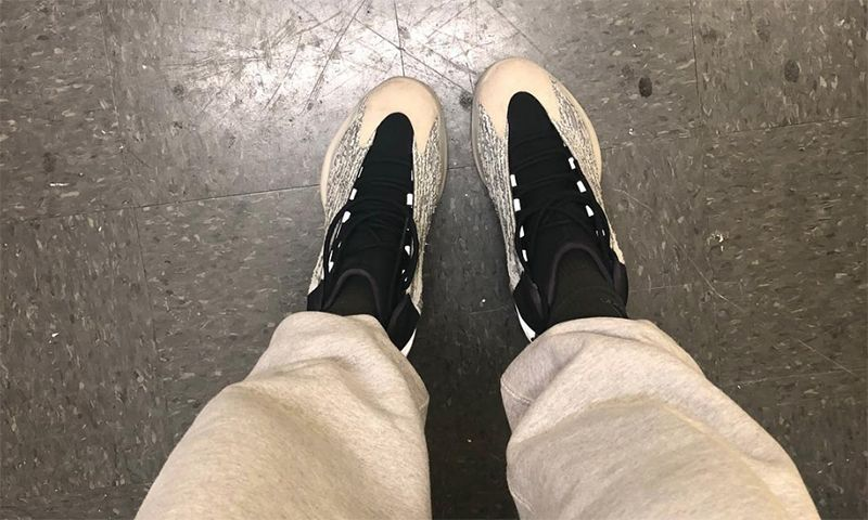 3486cf12914 Kanye West Gives Us Another Look at YEEZY Basketball Sneaker