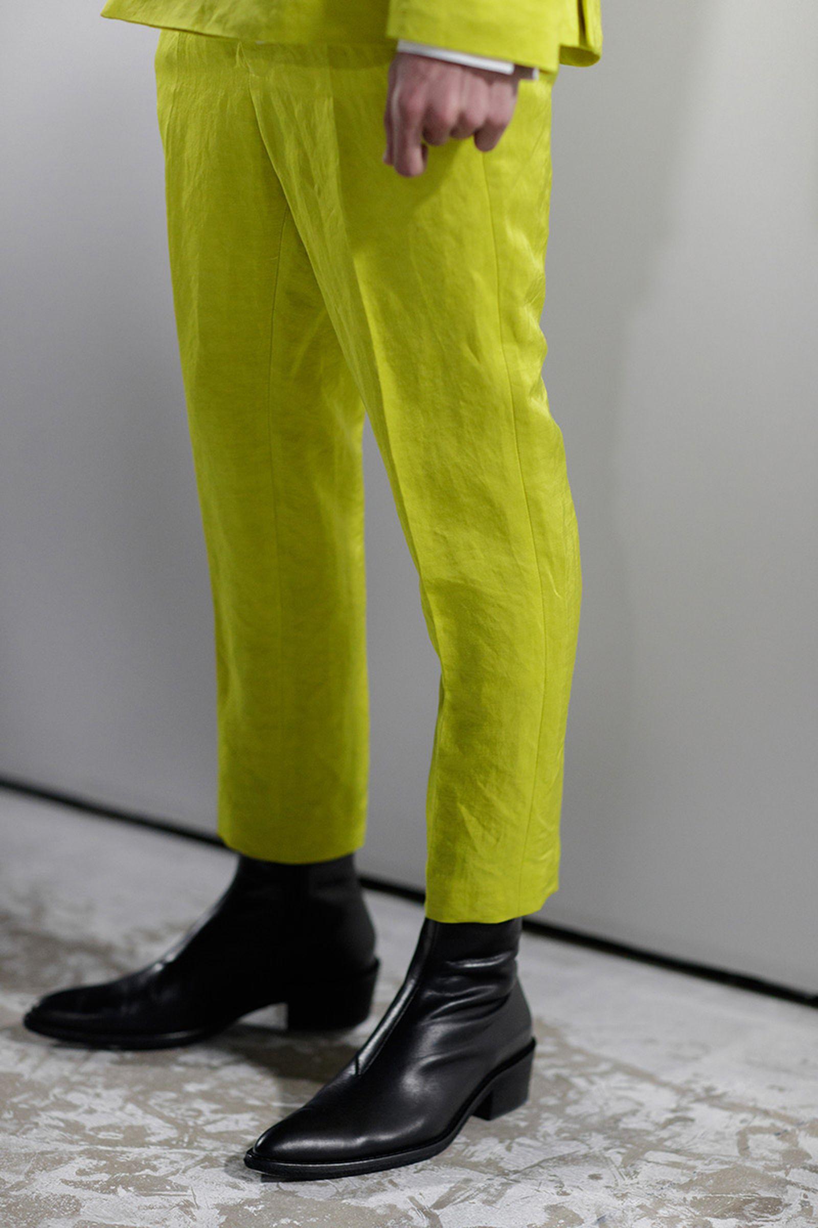 ss19 fashion week no sneakers Balenciaga Gucci Maison Margiela