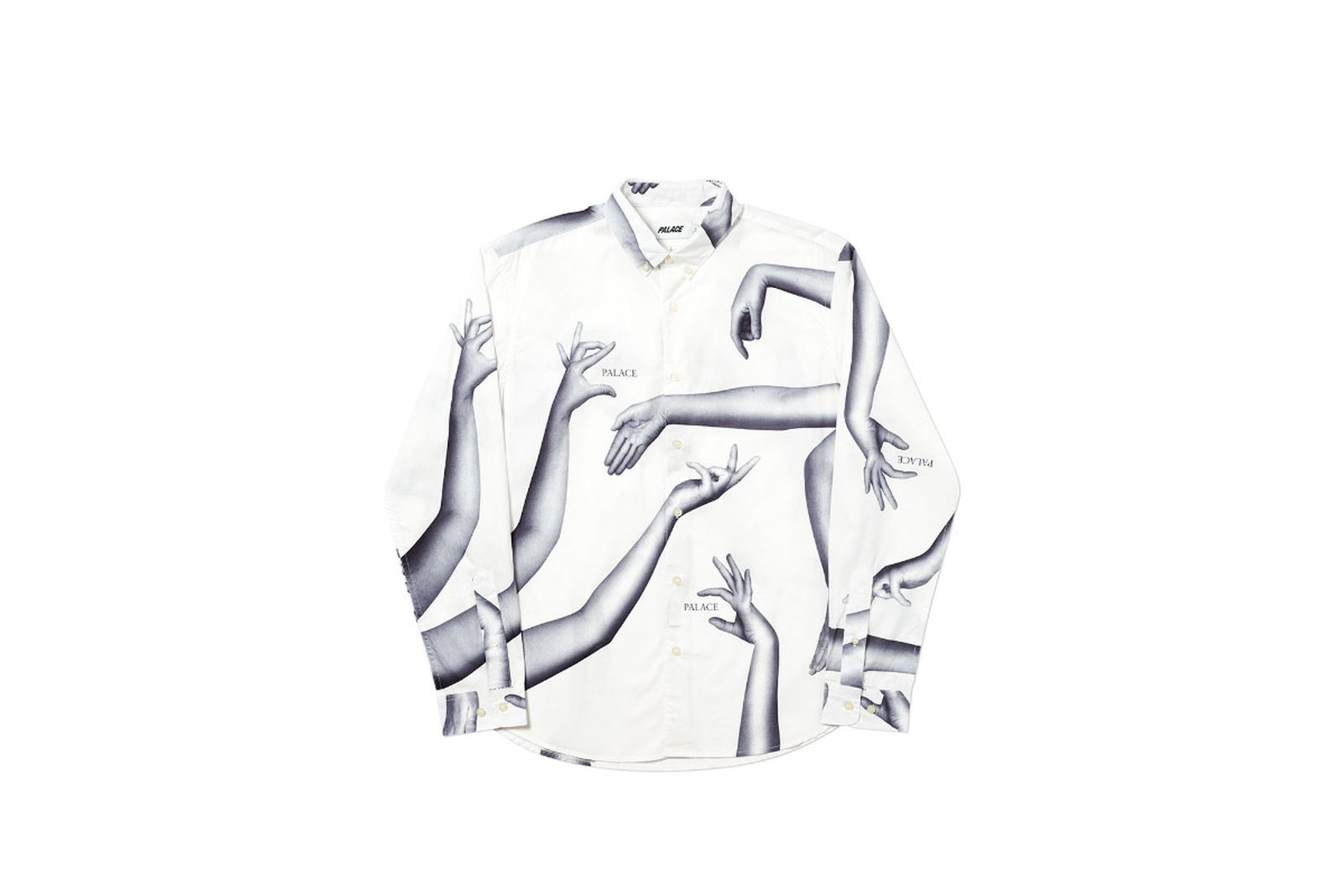 Palace 2019 Autumn Shirt Armbus white front fw19