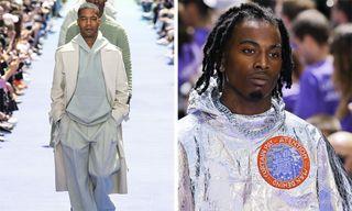 Kid Cudi, Playboi Carti, Blondey McCoy, & More Walk in Virgil Abloh's Louis Vuitton Debut