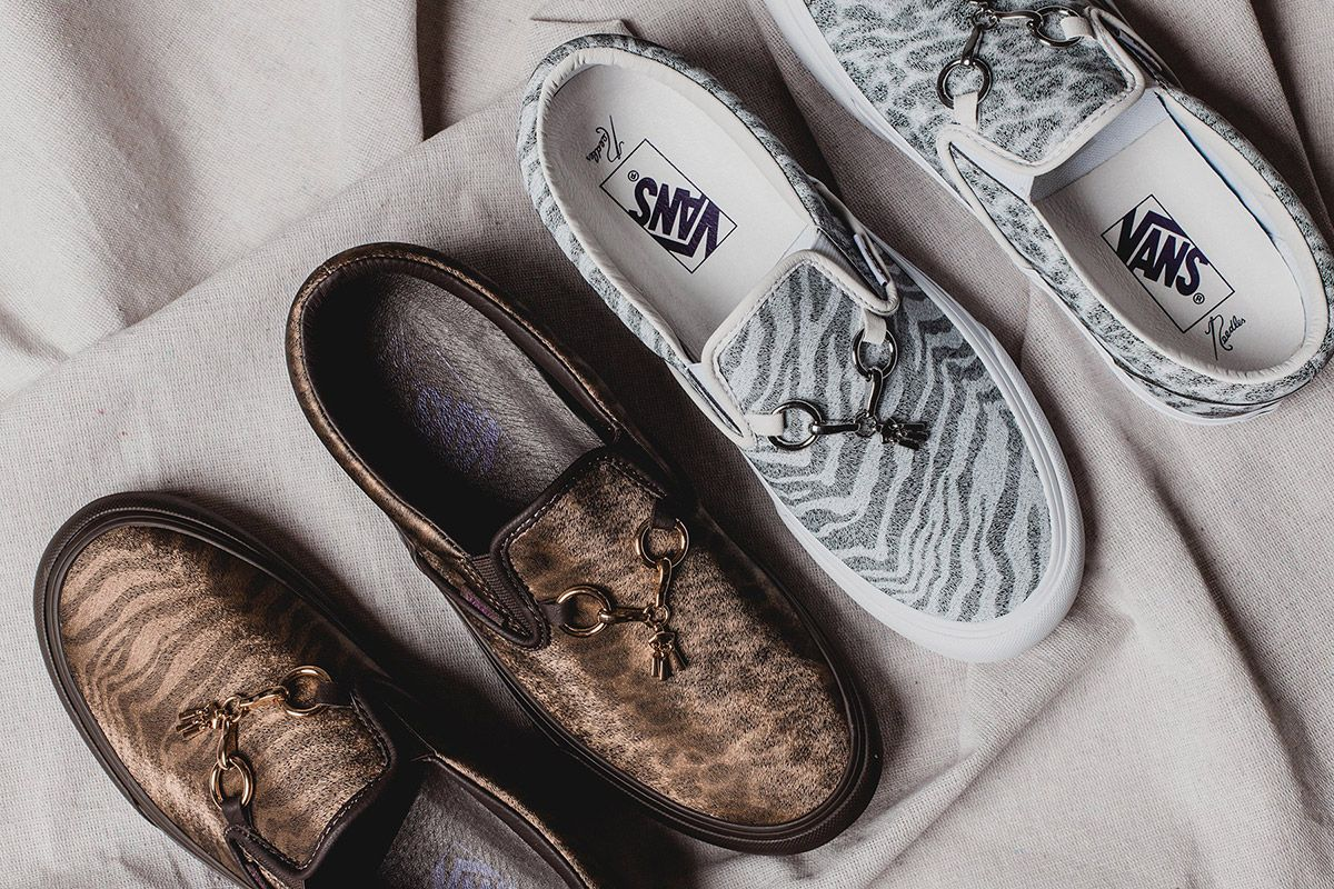 Needles Goes With a Mismatched Animal Print For Its Latest Vans Collab 3