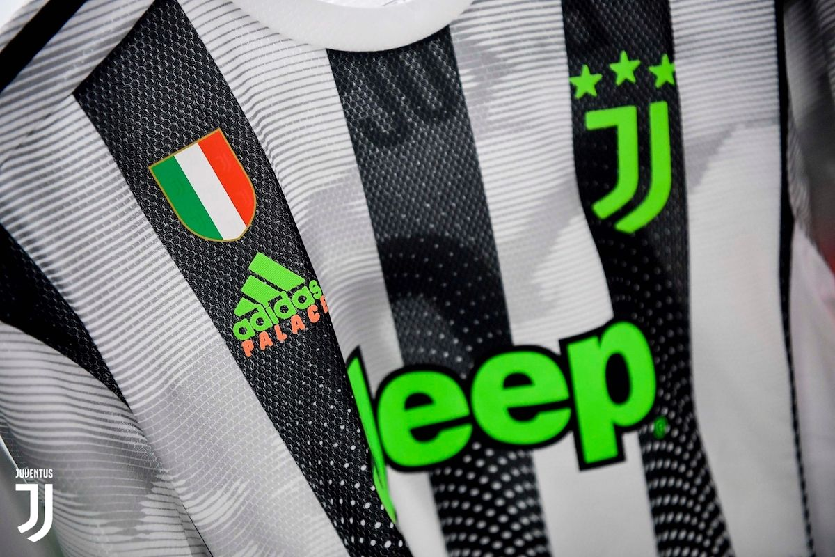Juventus Officially Unveils Monumental Palace Adidas Soccer Kit Celebrity Best News