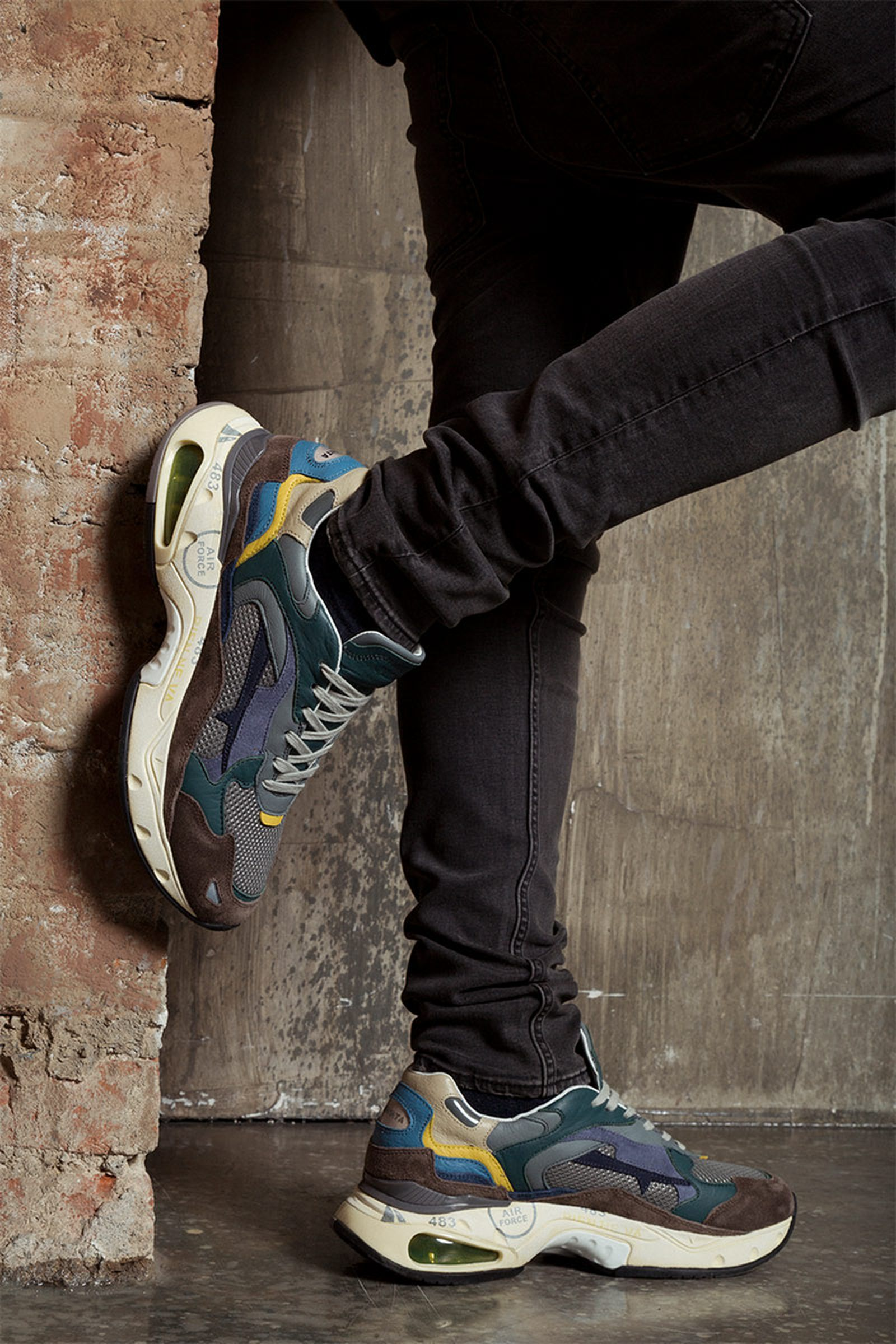 premiata sizey collection sharky sneaker sneakers