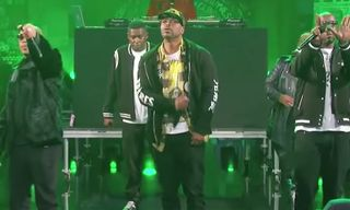 "Watch Wu-Tang Clan Perform ""C.R.E.A.M"" & ""Protect Ya Neck"" on 'Kimmel'"