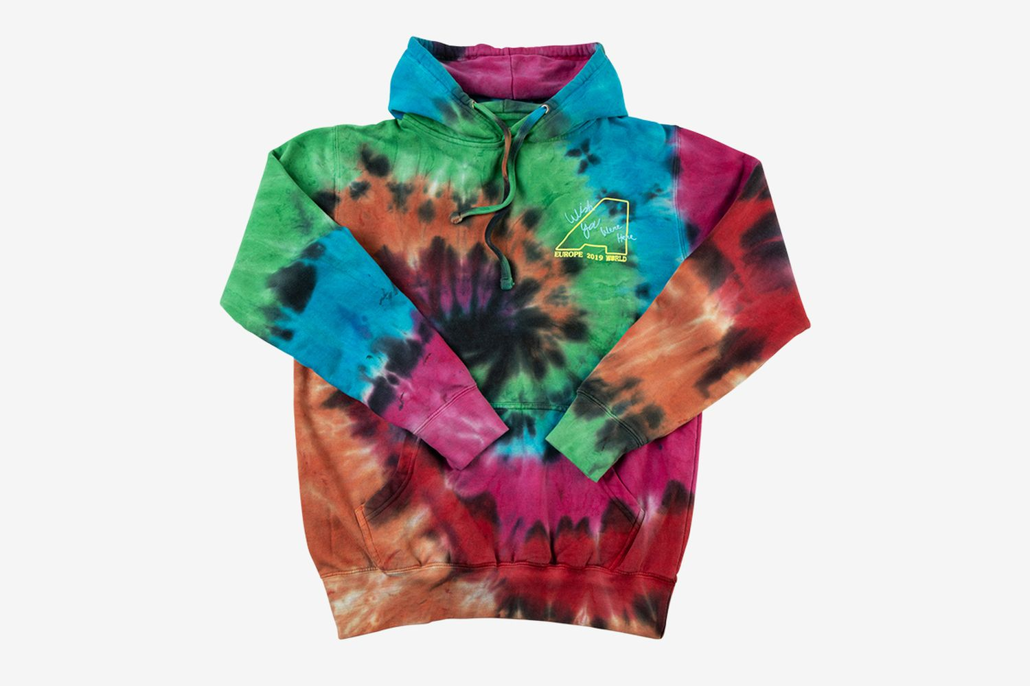Blink Of An Eye Tie Dye Hoodie